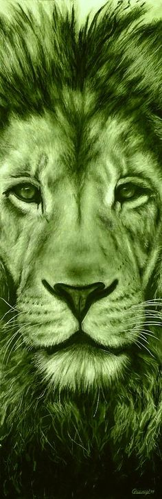 Green lion Green Life, Green Day, Go Green, Color Symbolism, Green Eyed Monster, Lion Love, Mean Green, Power Colors, Calming Colors