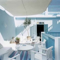 Salons d'été y terrazas lugares soñados