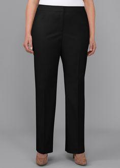 Plus Size Metropolitan Barrow Pants | Lafayette 148 New York