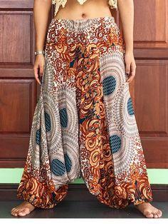 T Shirt Batik Baumwolle Indien Goa Hippie Psy Gr.L Unisex Blau Tie dye