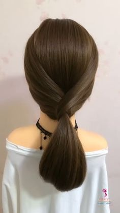 Hair Extension Styles, Hair Extension Hairstyles, Short Hair Ponytail Hairstyles, Ponytail Hairstyles Tutorial, Hairdo For Long Hair, Front Hair Styles, Medium Hair Styles, Hair Style Vedio, Hair Tutorials For Medium Hair