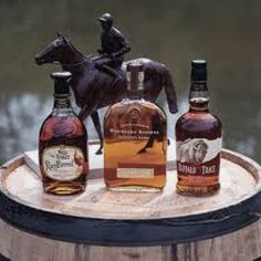 Bourbon bar!! Complete with Jockey!