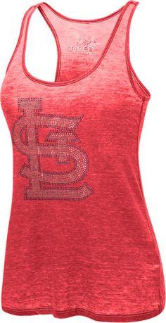 St. Louis Cardinals Women's Burnin Up Tank - Touch by Alyssa Milano