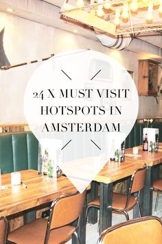 """There are so many great hotspots in Amsterdam. Find out where these, cafes, shops & restaurants are on travel blog http://www.yourlittleblackbook.me and visit them yourself. Planning a trip to Amsterdam? Check http://www.yourlittleblackbook.me/ & download """"The Amsterdam City Guide app"""" for Android & iOs with over 550 hotspots: https://itunes.apple.com/us/app/amsterdam-cityguide-yourlbb/id1066913884?mt=8 or https://play.google.com/store/apps/details?id=com.app.r3914JB"""