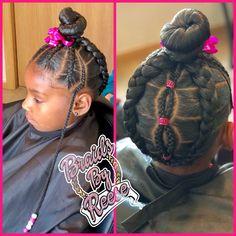 Cute Little Girl Hairstyles, Little Girl Braids, Girls Natural Hairstyles, Natural Hairstyles For Kids, Baby Girl Hairstyles, Kids Braided Hairstyles, Braids For Kids, Girls Braids, Natural Hair Styles