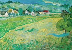 Sunny Meadow in Arles, c.1890 Prints by Vincent van Gogh at AllPosters.com
