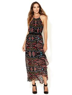 @Crystal Moriarty    thoughts??? to replace ur dress? Keyhole Silk Maxi Wrap Dress by Twelfth Street by Cynthia Vincent at Gilt