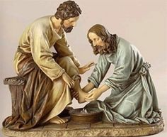 JESUS taught us to wash one anothers feet.  But do we ?