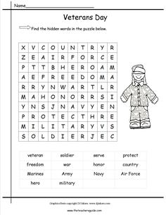 veterans day word scramble homeschool word search 250 word essay 250 word essay about veterans day