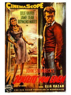 East of Eden - Elia Kazan Eden Movie, Raymond Massey, Science Fiction, Elia Kazan, James Dean Photos, Cool Posters, Movie Posters, East Of Eden, Kino Film