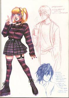 Death Note Funny, Death Note L, Amane Misa, Death Note Fanart, L Lawliet, A Silent Voice, Sketch Inspiration, Looks Cool, No Name