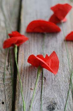 Cómo hacer flores de papel paso a paso ~ Solountip.com