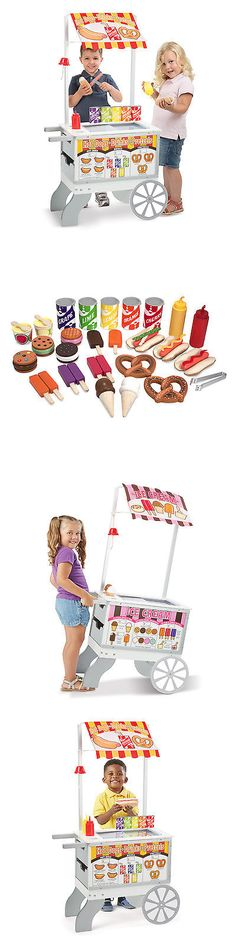 Tool Sets 158747: Melissa And Doug Snacks And Sweets Food Cart -> BUY IT NOW ONLY: $143.49 on eBay!