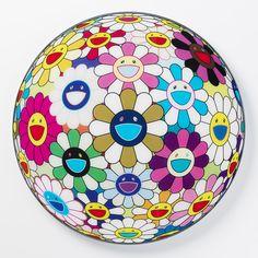 Takashi Murakami, Flower Ball (3-D) Autumn 2004