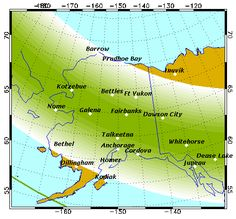 Geophysical Institute - AURORA FORECAST, ALASKA - NOAA forecasters say there is a 65% chance of G1-class geomagnetic storms on Oct. 11th. Auroral activity will be high. Weather permitting, highly active auroral displays will be visible overhead from Barrow to Bethel, Dillingham & Ketchikan, & visible low on the horizon from King Salmon.  #AURORAFORECAST #MISTERTRONA #GEOPHYSICALINSTITUTE [POSTED BY MR. TRONA - FLICKR.COM/PHOTOS/TRONA/]