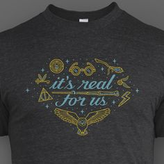 'It's Real for Us' shirt from DFTBA (Don't Forget To Be Awesome)
