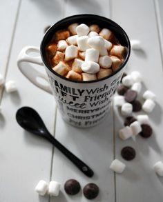 Recette - Chocolat chaud aux mini chamallows | 750g