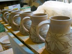 meesh's pottery: working together