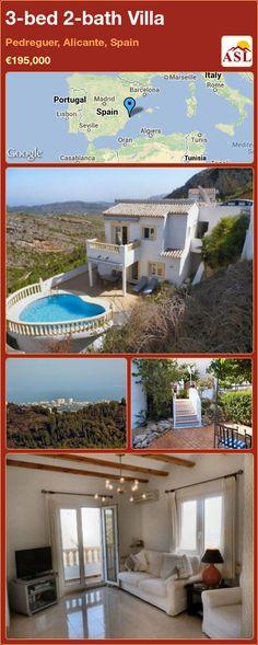 3-bed 2-bath Villa in Pedreguer, Alicante, Spain ►€195,000 #PropertyForSaleInSpain