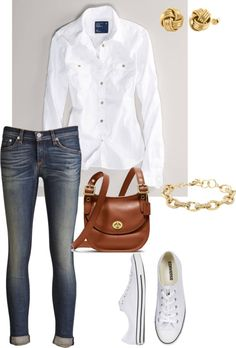 """""""Casual, Cute & Classic Look"""" by tballinger on Polyvore"""