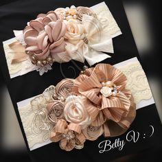 Satin Flowers, Diy Flowers, Fabric Flowers, Paper Flowers, Diy Ribbon, Ribbon Work, Ribbon Hair, Kids Hair Bows, Baby Flower Crown