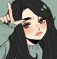 Anime Pin by Rachel Young on Photos from Cute art styles, Cartoon art, Character art Art Anime Fille, Anime Art Girl, Manga Girl Sad, Cute Art Styles, Cartoon Art Styles, Aesthetic Art, Aesthetic Anime, Aesthetic Drawing, Aesthetic Painting