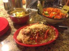 Cooking With Madjon aikenstandard.tv: Cajun Chicken Pasta D-Day & Dad
