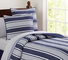 Jackson Quilted Bedding #pbkids