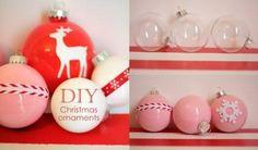 DIY Custom Colored Christmas Ornaments @Yummymummy Club