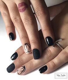 Manicura semi     #mscnails #nails #uñas #ungles #glitternails #blacknails #geometricnails #sugarnails #sinfiltro #santperederibes #sitges #barcelona #barcelonanails #uñasbarcelona #lovemyjob #nailart #nailartaddict #nailartist #nailaddict #lovenails #nailaddict #nailswag #nailstagram #nailsofinstagram #instanails #trendynails #nailtrend