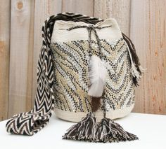 Riacho Wayuu Mochila Bag by MAKAWIACCESSORIES on Etsy, $235.00