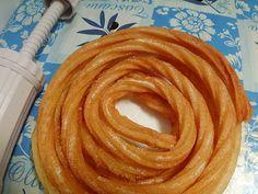receta de churros españoles inmejorable,,,harina agua y sal tradicional
