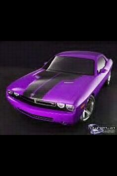 Plum Crazy Dodge Challenger my favorite color from dodge but i love it on the 60's charger