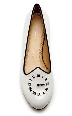 Fashionably Late Patent Leather Loafer by Charlotte Olympia - Moda Operandi
