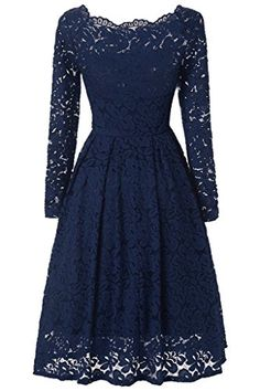 LanierWedding Prom Dresses Short Swing Dress Plus Size Vintage Stripe Swing Dress With Sleeves Purple XXL >>> Be sure to check out this awesome product. Summer Dresses For Teens, Summer Swing Dresses, Evening Dresses, Crochet Lace Dress, Floral Lace Dress, Prom Dresses 2017, Bridesmaid Dresses, Party Dresses, Bride Dresses