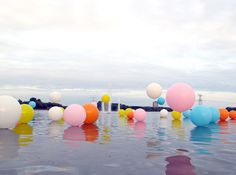 'Bubblegum' installation by Merijn Hos and Renée Reijnders