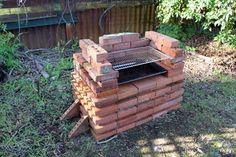 DIY Build A Brick Barbeque