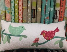 Little birdy cushion