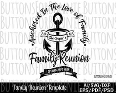 Check out our family reunion svg selection for the very best in unique or custom, handmade pieces from our digital shops.