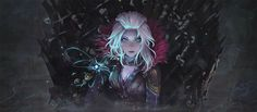 Mara Sov, House of Wolf. ... but I am a ghost! (Fan art of Game of Thrones + Destiny)