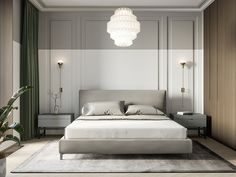 Best Bedroom Hotel Chic Lights Ideas – The best ideas Modern Bedroom Design, Bed Design, Modern Classic Bedroom, Modern Design, Hotel Bedroom Design, Modern Classic Interior, Hotel Bedrooms, Contemporary Bedroom Furniture, Modern Contemporary