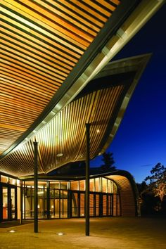 VanDusen Botanical Garden Visitor Centre in Vancouver, BC  http://www.besteno.com/questions/where-is-the-best-place-to-go-sight-seeing-in-vancouver-british-columbia