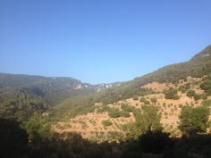 the climb up to Valldemossa from Palma direction