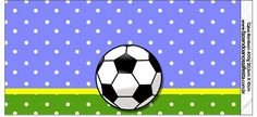 Soccer: Free Printable Candy Bar Labels.