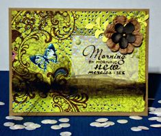 Handmade card by Janis using the New Mercies tamp set from Verve. #vervestamps
