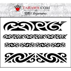 How do you like this tattoo? Bracelet Maori, Tattoo Bracelet, 1 Tattoo, Band Tattoo, Maori Tattoo Designs, Maori Tattoos, Maori Art, Different Tattoos, Tangle Patterns