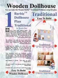 Barbie Dollhouse Plan Traditional