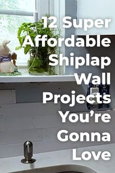 Decorate Your Bland Walls With These Beautiful And Super Affordable Shiplap Creations Shiplap Diy Home Decor Diy Shiplap Budget Shiplap Diy Decor Wall Decor Diy Walls Diy Wall Decor, Diy Home Decor, Decor Crafts, Faux Shiplap, Shiplap Diy, Shiplap Fireplace, Installing Shiplap, Ship Lap Walls, Decoration
