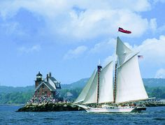 Windjammer cruise off the coast of Maine to do a little leaf peeping:)