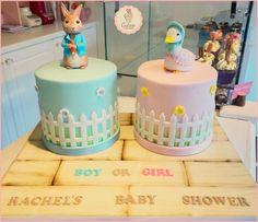 Peter Rabbit & Jemima by Cutsie Cupcakes